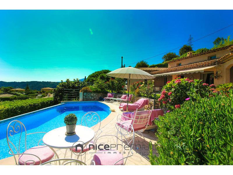 Villa terrain nice piscine immoselection for Piscine nice