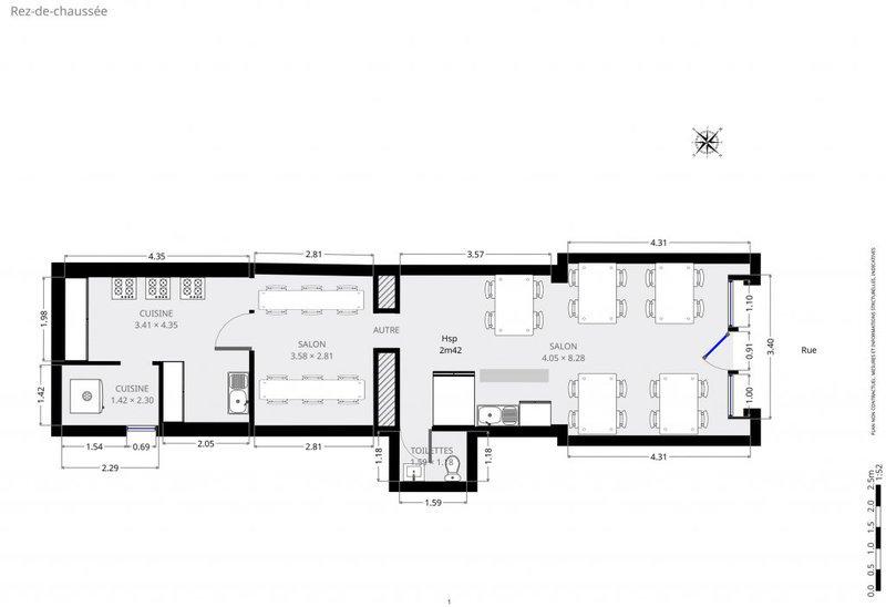 Divers, 58 m²