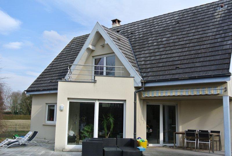Extension bois piscine garage immoselection for Piscine ensisheim