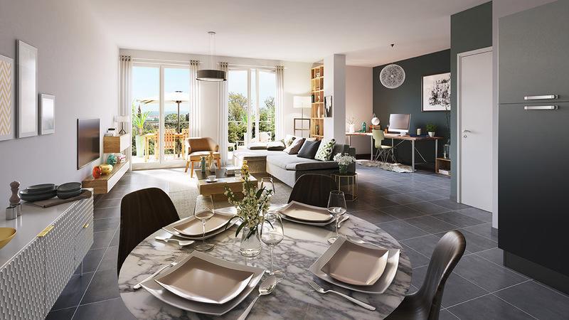 Appartement neuf, 24,3 m²