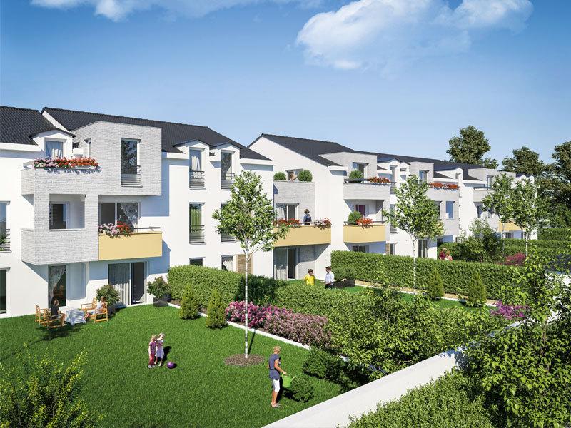 Appartement neuf, 60,6 m²
