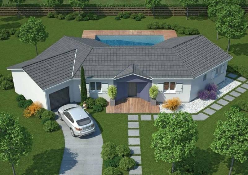 modele maison terrasse couverte immoselection. Black Bedroom Furniture Sets. Home Design Ideas