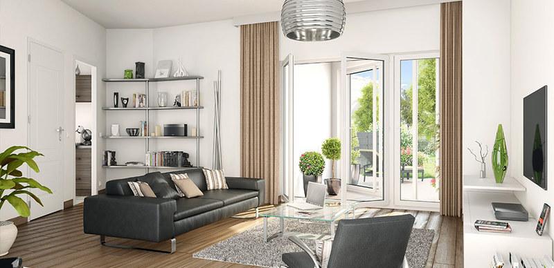 Appartement neuf, 51,4 m²
