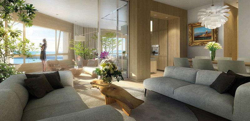 Appartement neuf, 129 m²