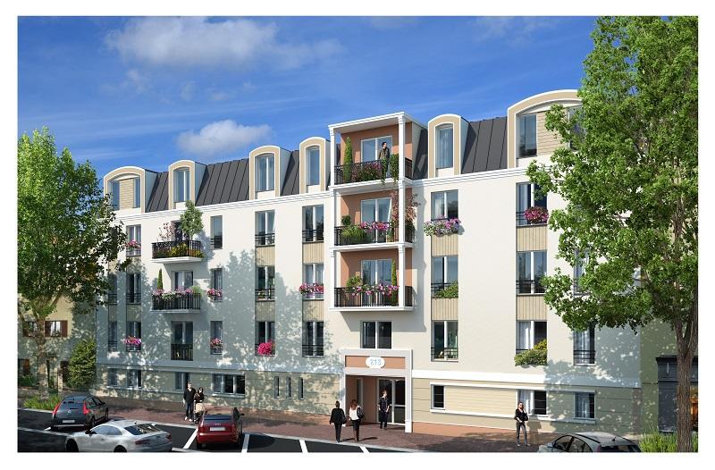 Appartement neuf, 65 m²