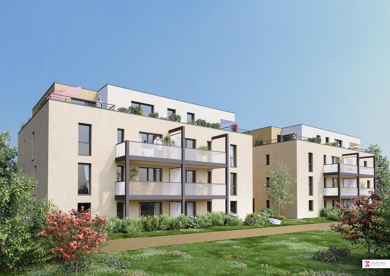 Appartement neuf, 39,6 m²