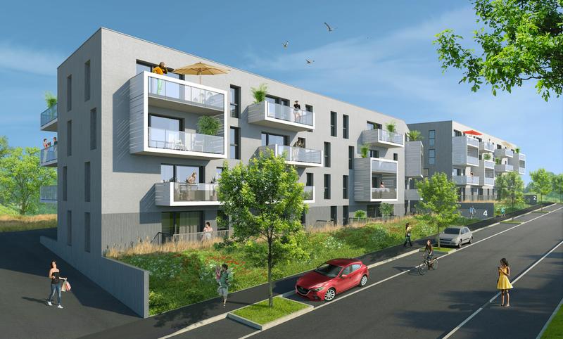Appartement neuf, 39,7 m²