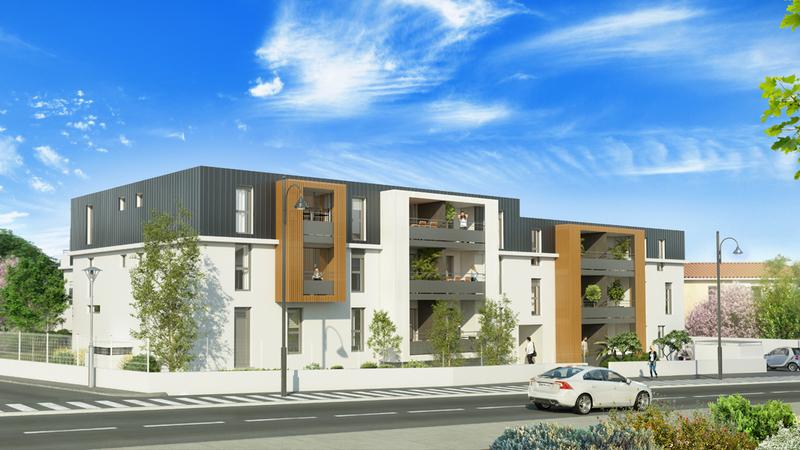 Appartement neuf, 38,3 m²