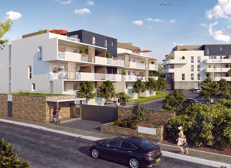 Appartement neuf, 86,8 m²