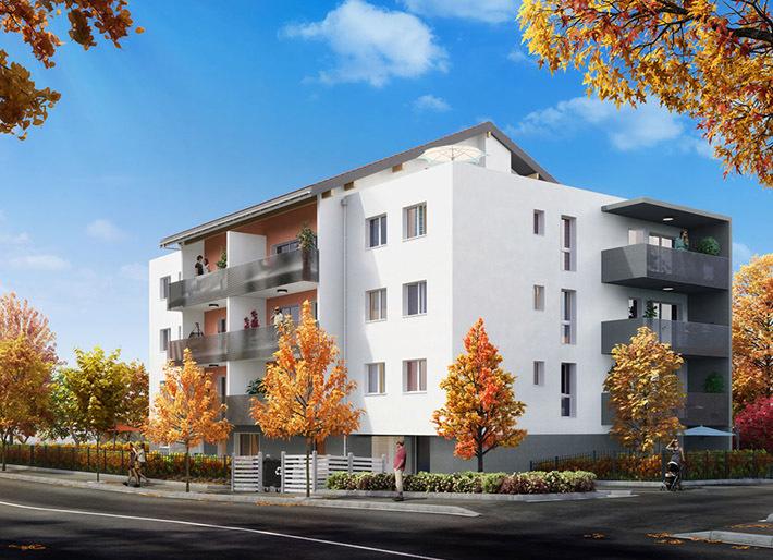 Appartement neuf, 64 m²