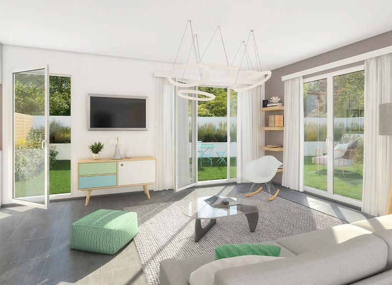 Appartement neuf, 34,6 m²