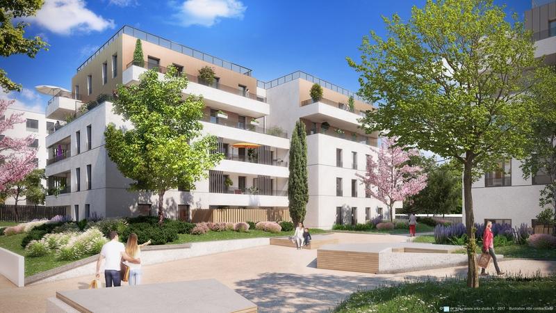 Appartement neuf, 31,9 m²