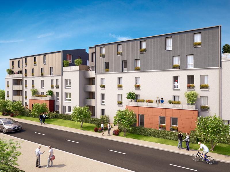 Appartement neuf, 54,7 m²