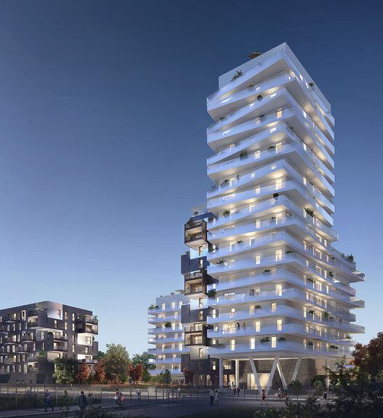 Appartement neuf, 34,1 m²