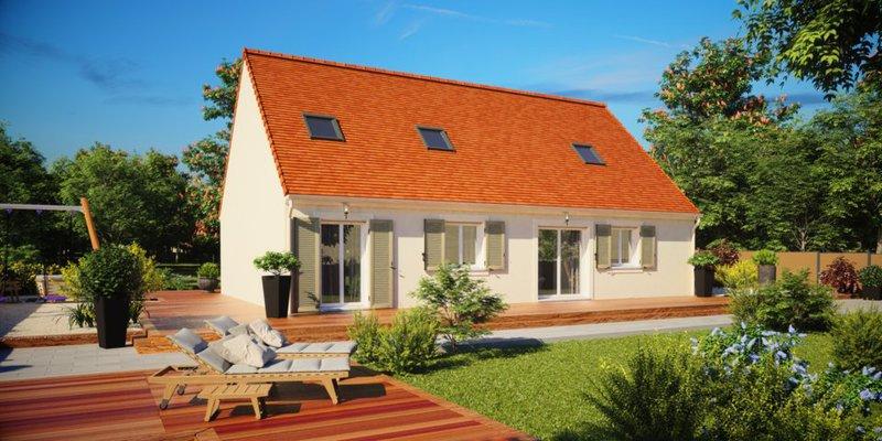 Maison neuve, 132 m²